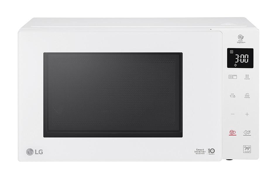 Микроволновая печь LG MB-65R95GIH белый, 1000, 25л [MB65R95GIH]