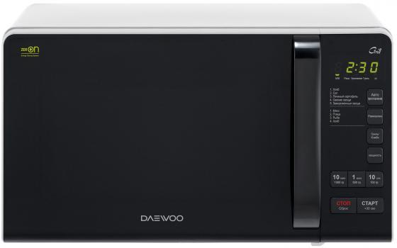 Микроволновая печь DAEWOO KQG-663B 700 Вт чёрно-белый цена и фото
