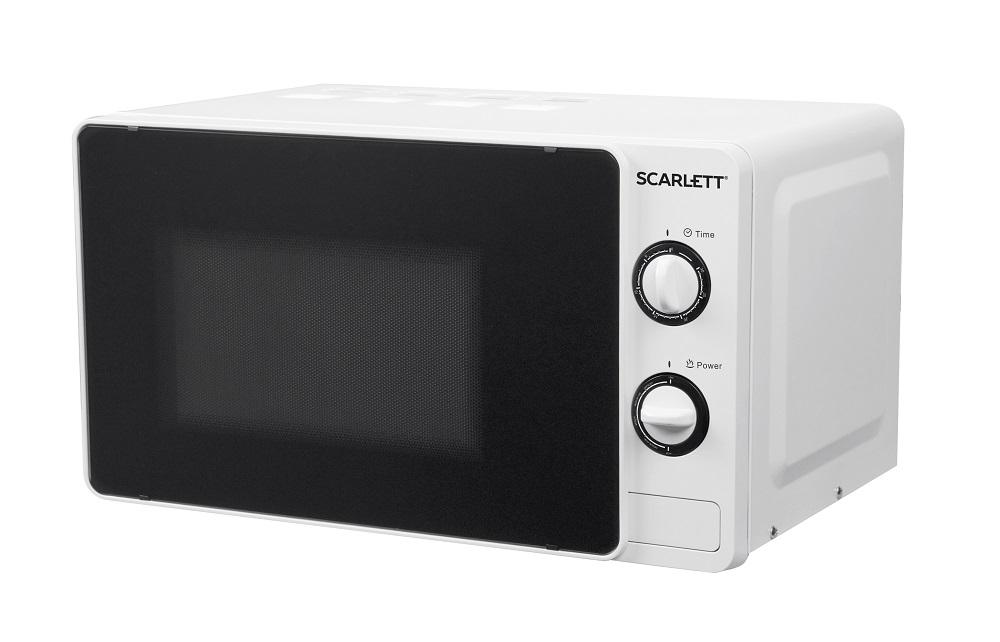 Микроволновая печь Scarlett SC-MW9020S02M 700 Вт белый микроволновая печь bbk 23mws 927m w 900 вт белый