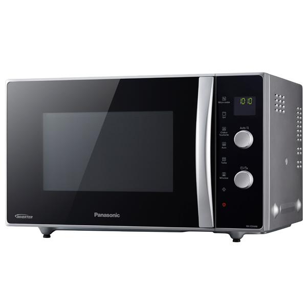 Микроволновая печь Panasonic NN-CD565BZPE 1000 Вт металик/черный микроволновая печь с грилем panasonic nn df383b