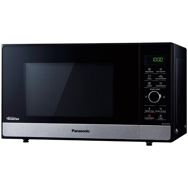 Микроволновая печь Panasonic NN-GD39HSZPE 1000 Вт черный/серебристый микроволновая печь panasonic nn gd382szpe