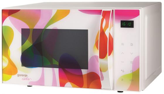 Микроволновая печь Gorenje MO20KARIM 800 Вт белый с рисунком цены
