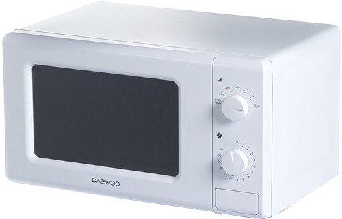 Микроволновая печь DAEWOO KOR-6617W 700 Вт белый микроволновая печь erisson mw17ma 700 вт белый