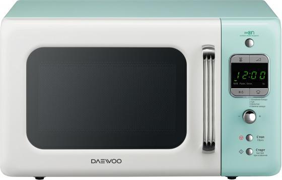 Микроволновая печь DAEWOO KOR-6LBRWM 800 Вт белый голубой