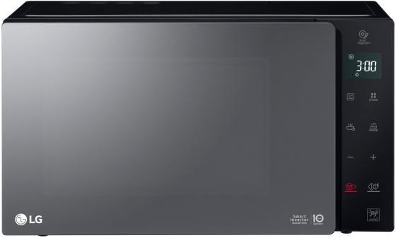 Микроволновая печь LG MW-25R95GIR чёрный, 1000, 25л lg микроволновая печь lg ms2042ds