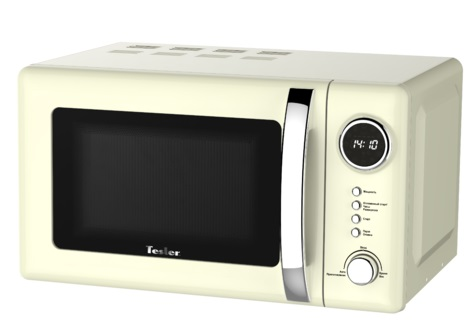Микроволновая печь TESLER ME-2055 (20 литров, 700 Вт, механическое упр., бежевый)