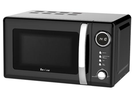 Микроволновая печь TESLER ME-2055 (20 литров, 700 Вт, механическое упр., черный)