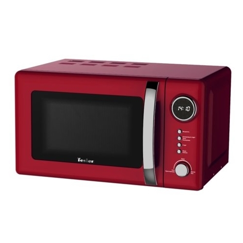 Микроволновая печь TESLER ME-2055 (20 литров, 700 Вт, механическое упр., красный)