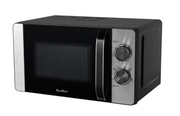 Микроволновая печь TESLER MG-2060 (20 литров, 700 Вт, механическое упр., черный)