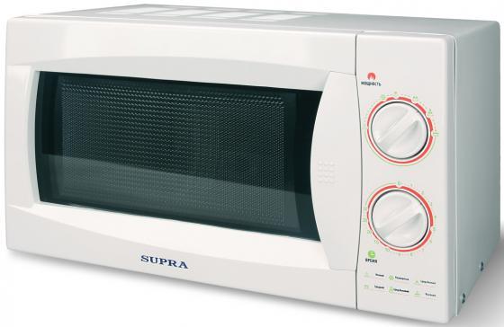 Микроволновая печь Supra 20MW40 800 Вт белый
