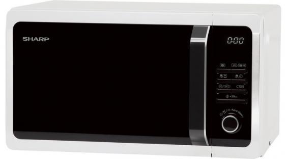 Микроволновая печь Sharp R7852RW 900 Вт белый sharp sjxp59pgsl