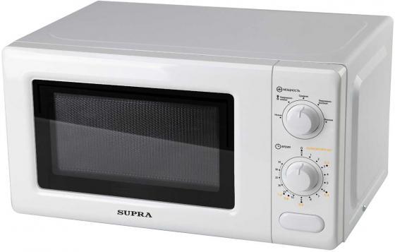 Микроволновая печь Supra 20MW04 700 Вт белый микроволновая печь galanz mog 2004m 700 вт белый