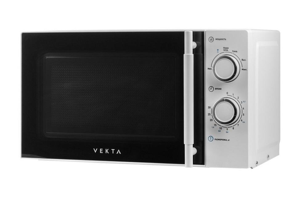 лучшая цена Микроволновая печь Vekta MS720ATW 700 Вт белый
