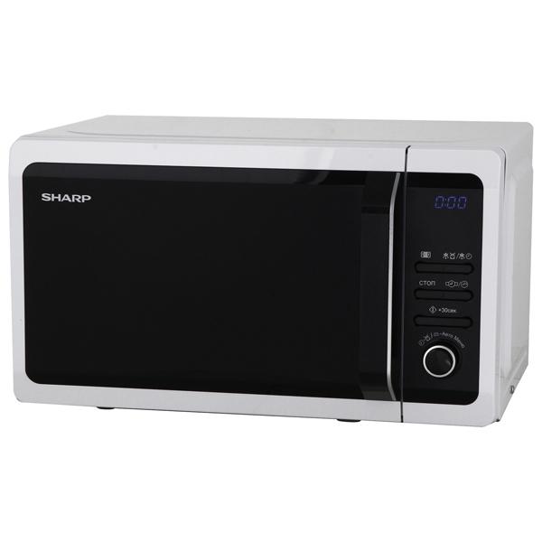 Микроволновая печь Sharp R2852RW 800 Вт белый цены
