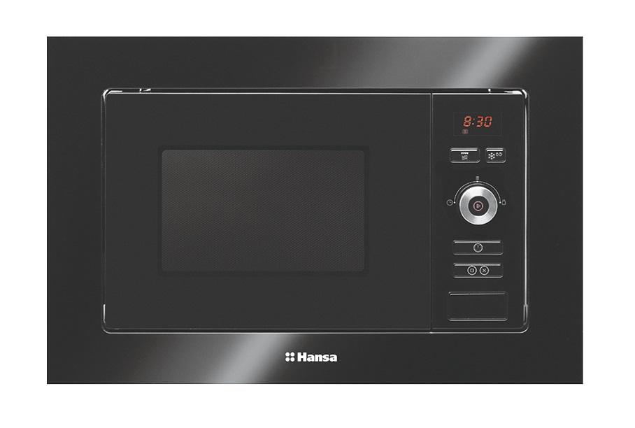 Встраиваемая микроволновая печь HANSA AMM20BESH встраиваемая микроволновая печь hansa amg20bfh 700 вт чёрный