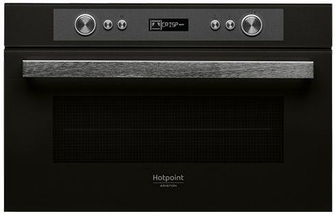 Встраиваемая микроволновая печь HOTPOINT-ARISTON MD 764 BL HA встраиваемая стиральная машина hotpoint ariston awm 108