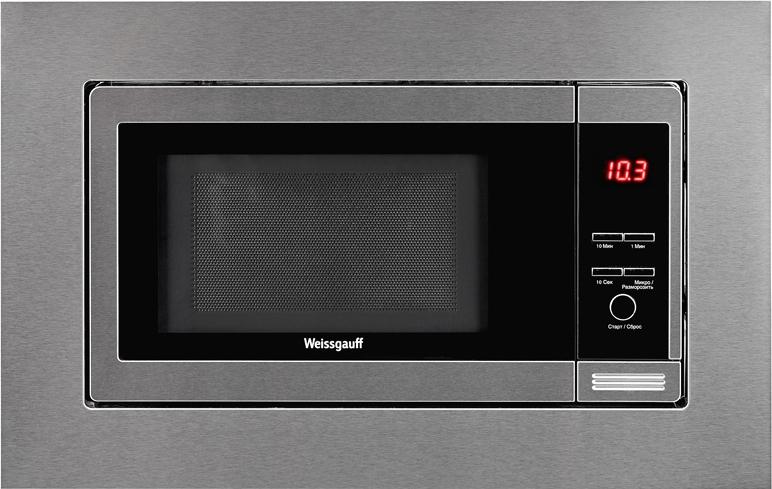 Встраиваемая микроволновая печь Weissgauff HMT-205 цена и фото