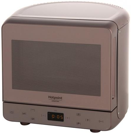 Микроволновая печь Hotpoint-Ariston MWHA 13321 700 Вт коричневый микроволновая печь hotpoint ariston mwha 2422 ms mwha 2422 ms