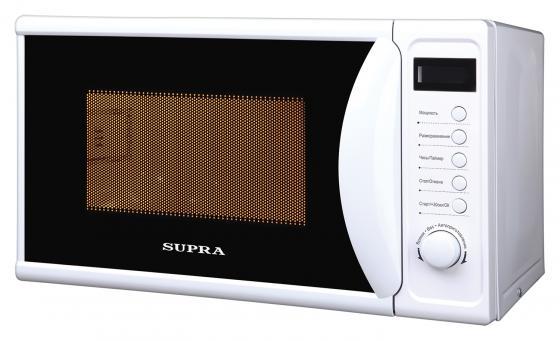Микроволновая печь Supra 20TW16 20л. 700Вт белый микроволновая печь bbk 23mws 927m w 900 вт белый