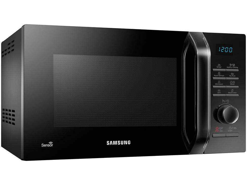 цена Микроволновая печь Samsung MG23H3115NK/BW