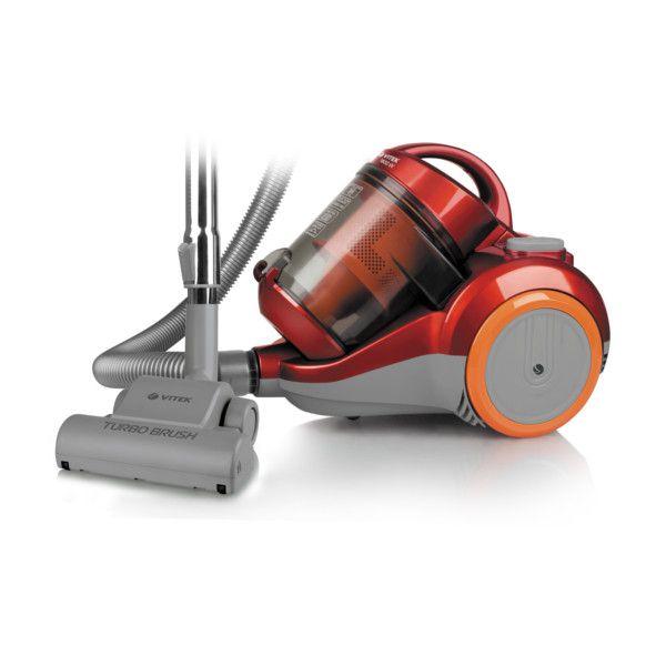 Пылесос VITEK VT-1826(R)  ( 1800 Вт, мощность всасывания 400 Вт, объем пылесборника 2,5 л,Без мешка) nordway ботинки для беговых лыж детские nordway alta 75 mm