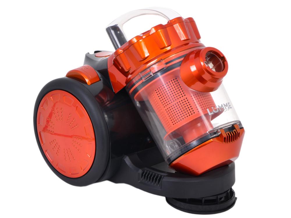 Пылесос LUMME LU-3206 черный/оранжевый ЦИКЛОН пылесос lumme lu 3206 черно фиолетовый