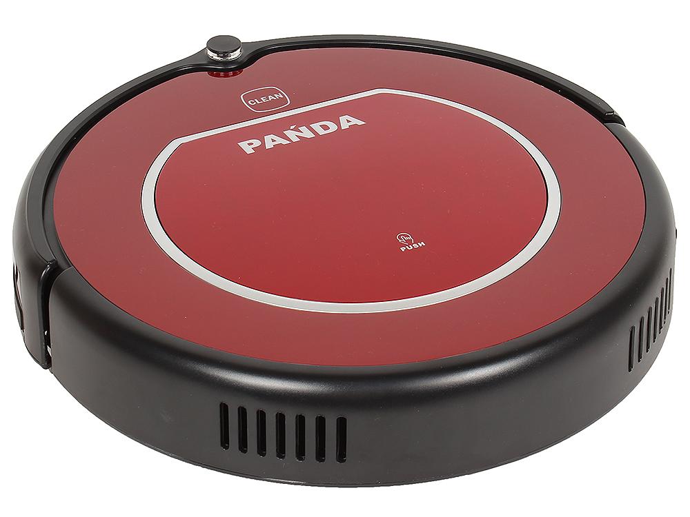 Робот-пылесос Panda X600 Pet Series (красный) [мощность всасывания 85 Вт, Обновленная прошивка (ROS 2.5), 2 насадки для режима полотера (влажная и сух