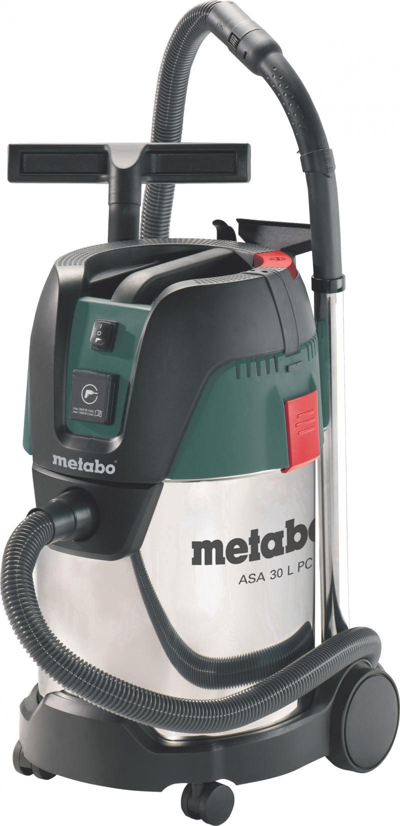 Пылесос Metabo ASA30LPCInox 602015000