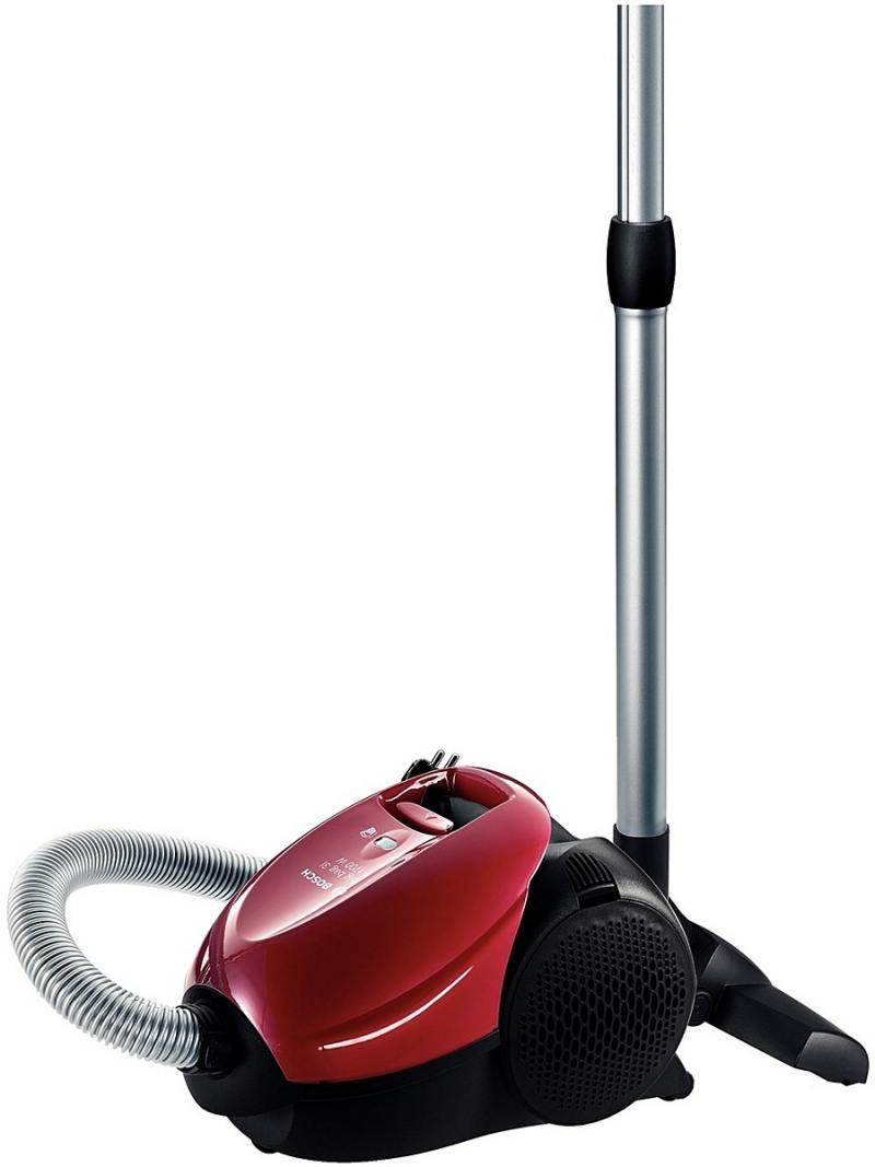 Пылесос Bosch BSN1701RU с мешком сухая уборка 1700/300Вт красный пылесосы bosch пылесос bosch bsgl32180 2100вт красный