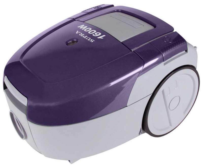 Пылесос SUPRA VCS-1603 фиолетовый