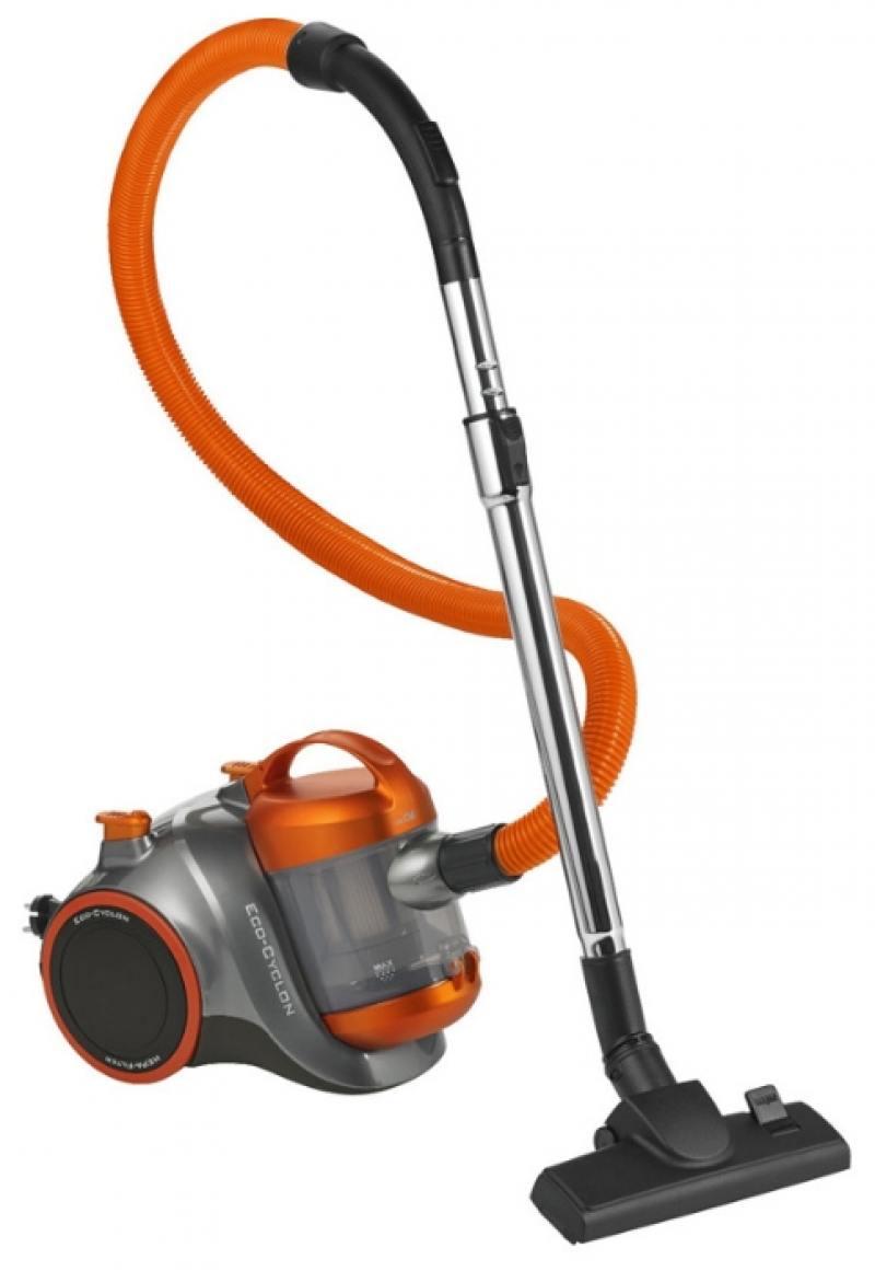 Пылесос Clatronic BS 1304 черно-оранжевый