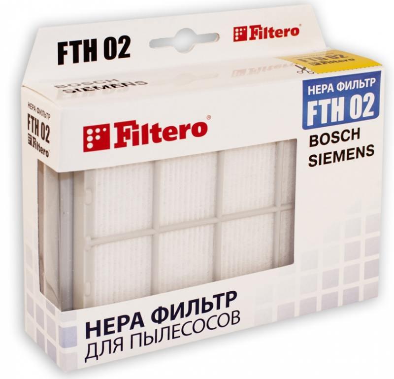 НЕРА-фильтр Filtero FTH 02 filtero fth 02