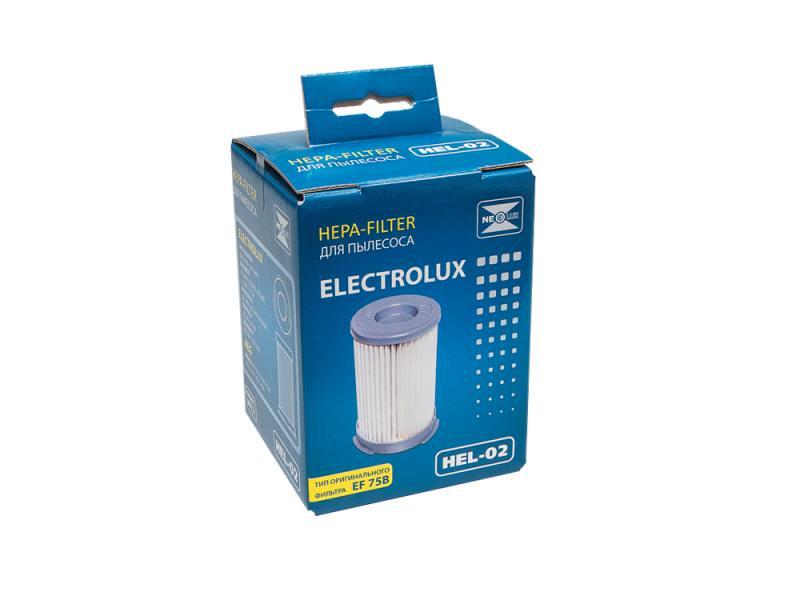 Фильтр для пылесоса NeoLux HEL-02 для Electrolux насадка для пылесоса neolux tn 09 универсальная с очищающим ворсом