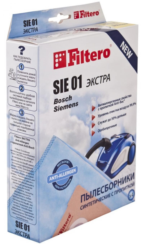 где купить Пылесборник Filtero SIE 01 Экстра пятислойные 4шт по лучшей цене