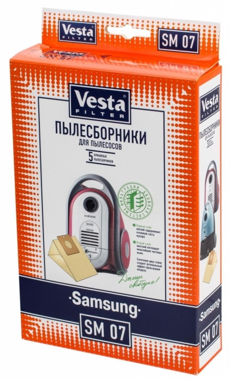 Комплект пылесборников Vesta SM 07 5шт