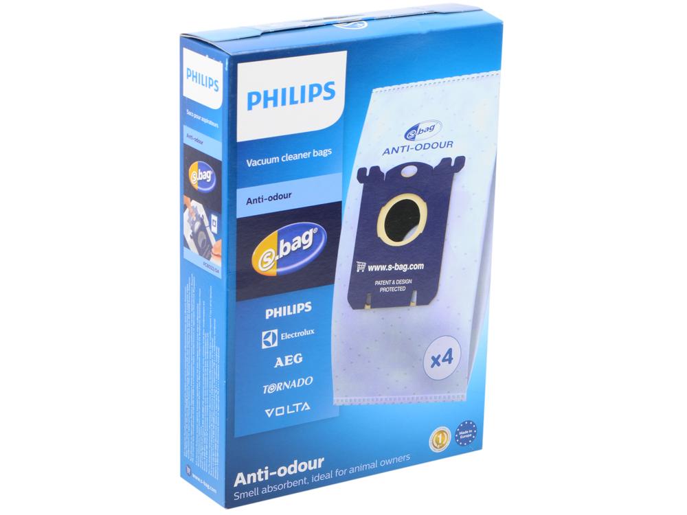 Пылесборник Philips FC8023/04 4шт пылесборник bosch bbz41fp одноразовый синтетика 4шт