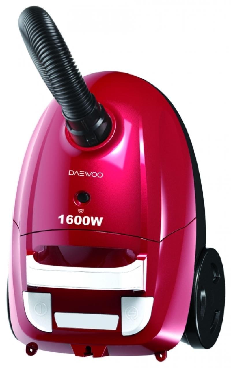 Пылесос DAEWOO RGJ-220R сухая уборка красный