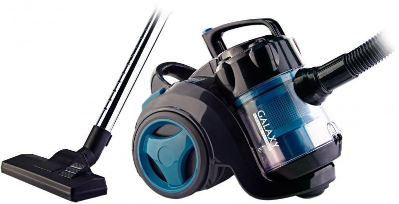 Пылесос GALAXY GL6251 сухая уборка синий чёрный автомобильный пылесос heyner 238000 сухая уборка чёрный