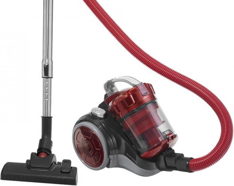 Пылесос Clatronic BS 1302 antrazit-rot сухая уборка красный