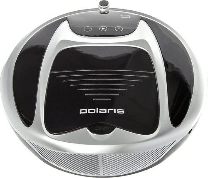 Робот-пылесос Polaris PVCR 0225D сухая уборка чёрный