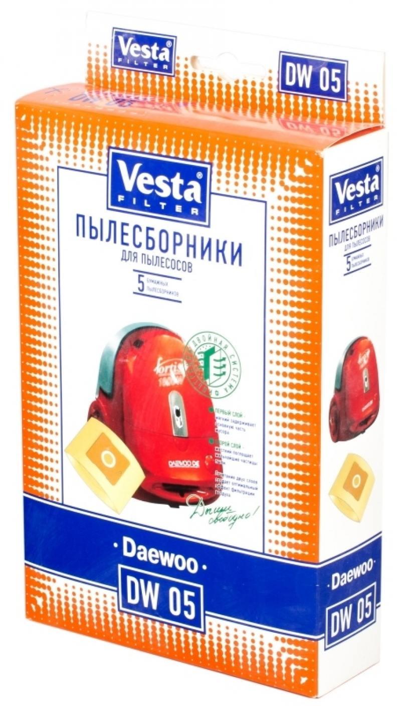 Комплект пылесборников Vesta DW 05 5шт цена