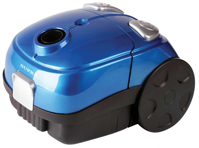 Пылесос SUPRA VCS-1602 c мешком сухая уборка 1600Вт синий