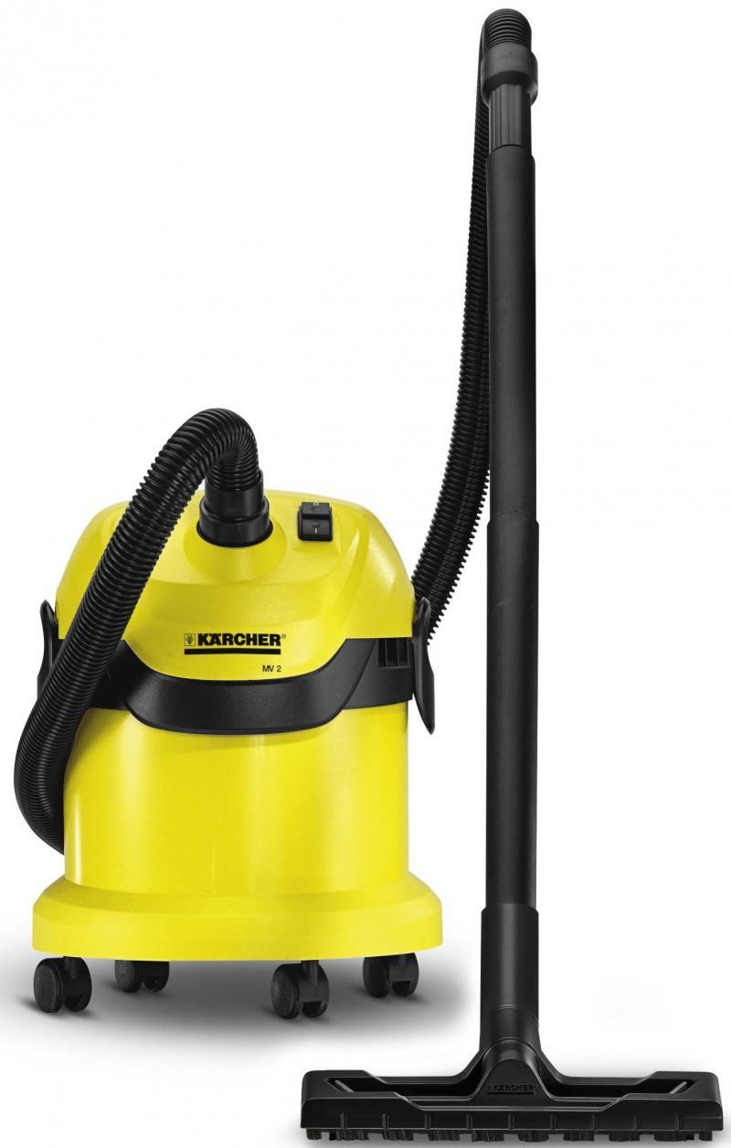 Пылесос Karcher WD2 сухая уборка жёлтый