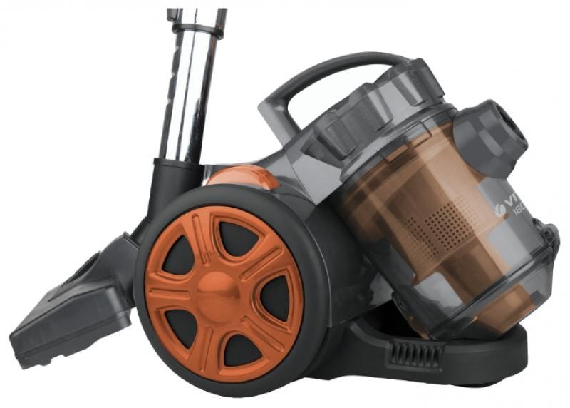 Пылесос Vitek VT-8115(OG) сухая уборка оранжевый чёрный