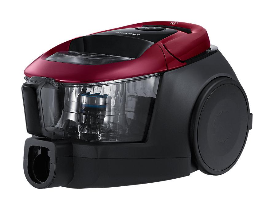 Пылесос Samsung SC18M31A0HP (VC18M31A0HP/EV) сухая уборка бордовый пылесос samsung sc 20 f 30 wnf