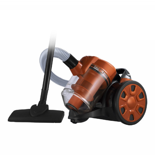 Пылесос HOME ELEMENT HE-VC-1801 сухая уборка чёрный оранжевый