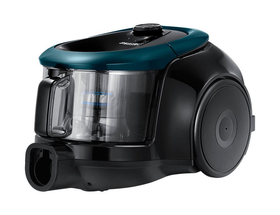 Пылесос Samsung VC2100K без мешка сухая уборка 1800Вт зеленый/черный автомобильный пылесос rolsen rvc 100 без мешка сухая уборка 35вт бело голубой