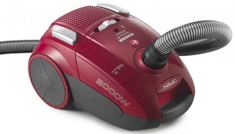 Пылесос Hoover TTE 2005 019 с мешком сухая уборка 2000Вт красный пылесос lg v k76w02hy без мешка сухая уборка 2000вт серебристо серый