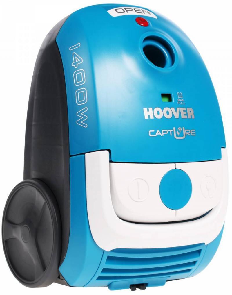 Пылесос Hoover TCP 1401 019 с мешком сухая уборка 1400Вт синий пылесос hoover tcp 2120 019 сухая уборка синий