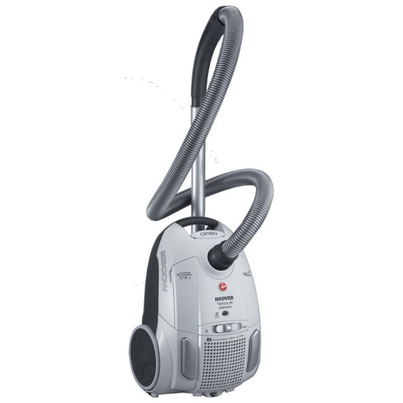 Пылесос Hoover TTE 2304 019 с мешком сухая уборка 2300Вт серебристый робот пылесос iclebo arte сухая уборка серебристый